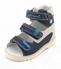 Sursil Ortho сандалии завышенный жесткий  Берец 13-118 синий/белый