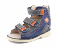 Sursil Ortho сандалии завышенный жесткий берец 15-250 синий
