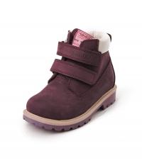 Minitin ботинки зима т.фиолетовый 115-05