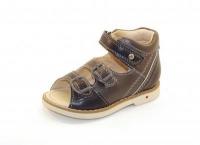 Baby Orthopedic Shoes сандалии серый 051-51