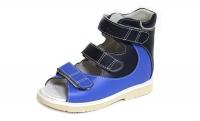 ОРТОДОН сандалии завышенный жёсткий берец 1333-6 синий/голубой