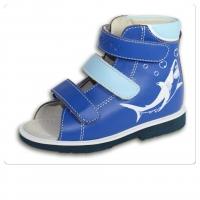 ОРТОДОН сандалии завышенный жёсткий берец 1999-1 синий/голубой