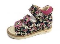 .MyMini сандалии фуксия/цветы