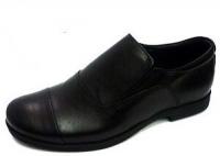.Minitin туфли школьные черный/резинка