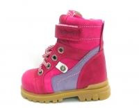 Minitin ботинки осень/весна 314 розовый