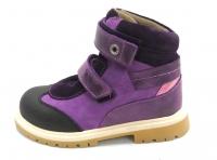 Minitin ботинки осень/весна 313 фиолетовый
