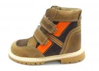 Minitin ботинки осень/весна 304 коричневый