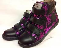 .Tutubi   ботинки чёрный/блеск